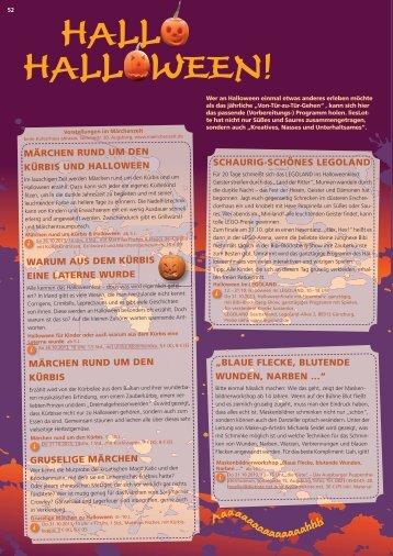 Halloween 2013: Veranstaltungen und Kurse in Augsburg - liesLotte