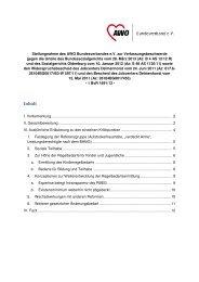 Stellungnahme des AWO Bundesverbandes - Liga der freien ...