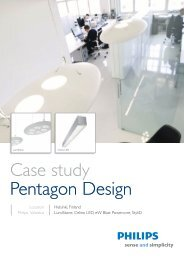 Case study Pentagon Design - Philips Lighting