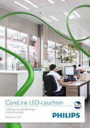 CoreLine LED-Leuchten - For Philips Lighting