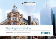 Metronomis LED brochure - Philips Lighting