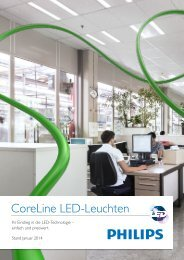 CoreLine LED-Leuchten - Philips Lighting