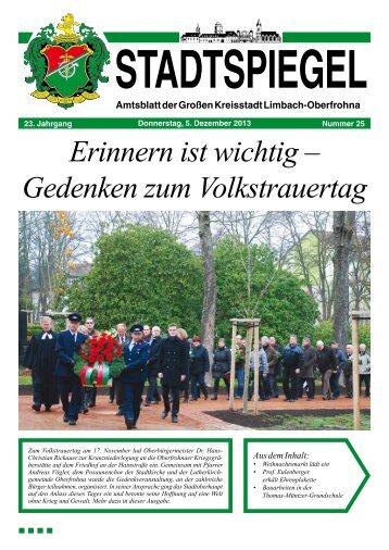 Stadtspiegel 25-13.pdf - Stadt Limbach-Oberfrohna