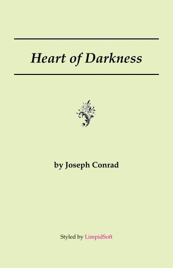 Heart Of Darkness Background