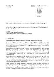 Top 5 Sitzungsvorlage Begründung Wahlwerbung ... - Lindau