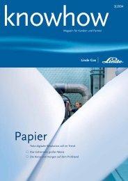 Ausgabe 03 2004 (PDF, 745 Kb) - Linde Gas