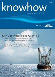 Ausgabe 01 2003 (PDF, 815,1Kb) - Linde Gas