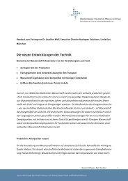 Die neuen Entwicklungen der Technik (PDF, 300,0Kb) - Linde Gas