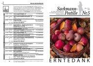 Sackmann Postille - Linden entdecken
