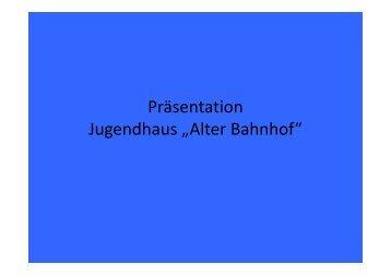 PräsentationStadtrat 2013-11-18 [Schreibgeschützt] - Lindenberg