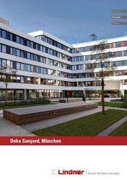 Projektreport Deka Sunyard, München - Lindner Group