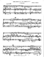 Rosner - Sonata for Horn and Piano, op. 71