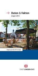 Die Broschüre Daten und Fakten steht hier zum ... - Stadt Lingen