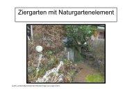 Unterschiedliche Gartenformen - Bildergalerie