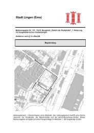 Begründung - Stadt Lingen