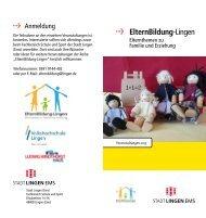ElternBildung-Lingen - Stadt Lingen
