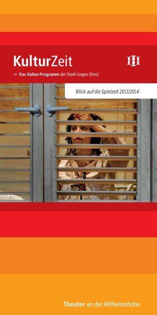 KulturZeit 2013/2014 - Stadt Lingen