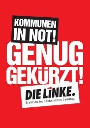 Kommunen in Not! - Fraktion DIE LINKE im Sächsischen Landtag