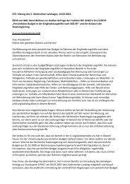 Horst Wehner - Fraktion DIE LINKE im Sächsischen Landtag