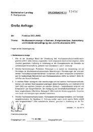 ~ In lcJ: - Fraktion DIE LINKE im Sächsischen Landtag