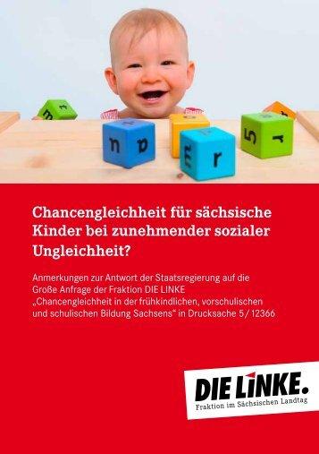 Broschüre - Fraktion DIE LINKE im Sächsischen Landtag
