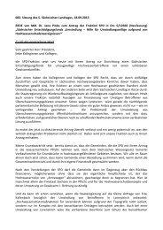 Dr. Jana Pinka - Fraktion DIE LINKE im Sächsischen Landtag