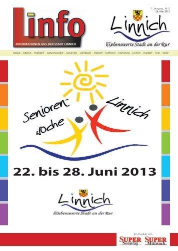 Linfo 05/2013 - Stadt Linnich