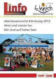 Linfo 09/2013 - Stadt Linnich