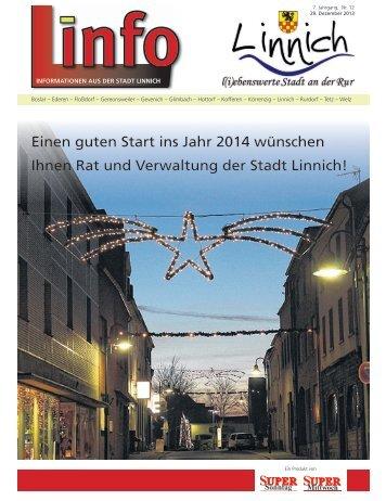 Linfo 12/2013 Teil 1 - Stadt Linnich