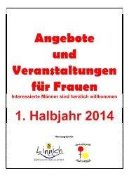 Frauenprogramm 1. Halbjahr 2014 - Stadt Linnich