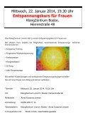 Frauenprogramm 1. Halbjahr 2014 - Stadt Linnich - Page 4