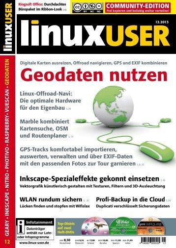 Geodaten nutzen - Linux User