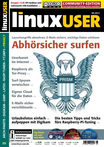 zum Download - Linux User