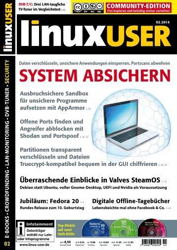 SYSTEM ABSICHERN - Linux User