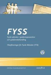 Fysisk aktivitet i sjukdomsprevention och sjukdomsbehandling ...