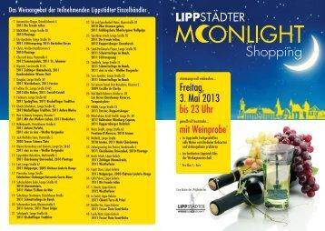 Wein-Guide zum Moonlight-Shopping - Lippstadt