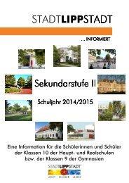 Broschüre 'Die Sekundarstufe II' - Lippstadt