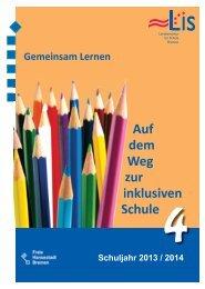 Broschuere_Inklusion_2013_2014.pdf (2.4 MB) - LIS - Bremen