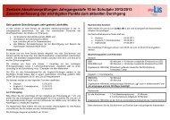 Zentrale Abschlussprüfungen Jahrgangsstufe 10_HB ... - LIS - Bremen