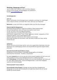 Mitschrift Bewegung und Tanz (pdf, 46.4 KB) - LIS - Bremen