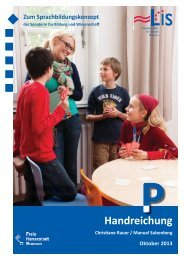Handreichung Sprachbildung P (pdf, 2.7 MB) - LIS - Bremen