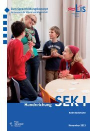 Handreichung Sprachbildung Sek I (pdf, 1.2 MB) - LIS - Bremen