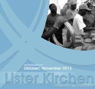 Ausgabe 69 - Oktober/November 2013 - Lister Kirchen