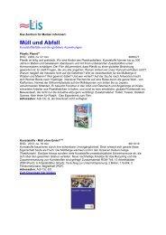Müll u. Abfall 2013.pdf (290 kB) - LIS - Bremen