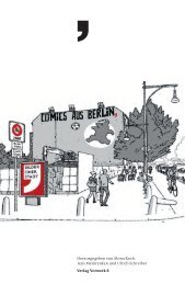Katalog - Comics aus Berlin. Bilder einer Stadt - Internationales ...