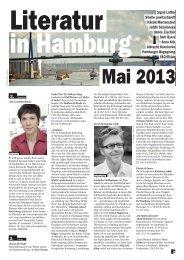 Mai 2013 - Literatur in Hamburg