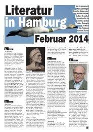 Februar 2014 - Literatur in Hamburg