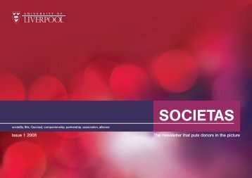 SOCIETAS - University of Liverpool
