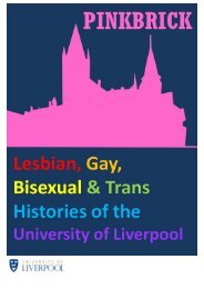LGBT Histories Timeline - University of Liverpool