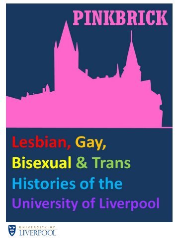 LGBT Histories Timeline - University of Liverpool